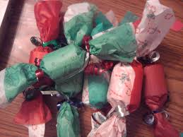 paper crafts christmas fire crackers