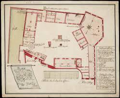 floor plan of a hotel file amh 7718 na floor plan of the u0027kattenplaats u0027 courtyard in