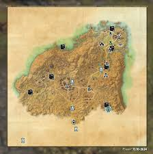 Skyrim Treasure Map Iv Lost Treasure Map Coords Compasses Elder Scrolls Online Addons