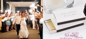 wedding favor matches hot wedding favor combo sparklers matches