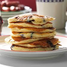dad u0027s blueberry buttermilk pancakes recipe taste of home