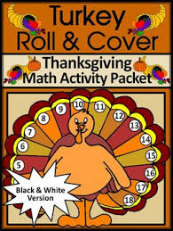thanksgiving math activities thanksgiving turkey roll cover