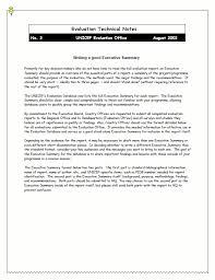doc 654848 writing executive summary template u2013 executive