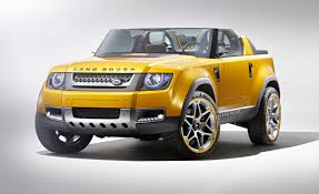 land rover defender concept roofless land rover defender dc100 sport concept unveiled