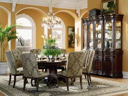9 piece round dining set