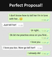 I Love You Memes For Her - dopl3r com memes perfect proposal i dont know how to tell her
