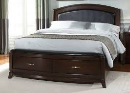 queen platform bed with headboard u0026 storage home design ideas