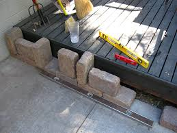 Making A Paver Patio by How To Build A Paver Patio On A Cement Slab Step 2 U2013 Prepare