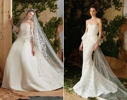 carolina herrera bridal bridal fashion week 2017 collections