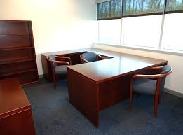 Gumtree Office Desk U Shape Office Desk Executive W Right Credenza Desks L Shaped For