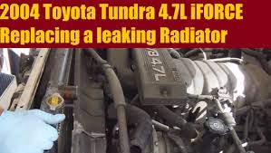 2001 toyota sequoia radiator 2004 toyota tundra radiator replacement 4 7l iforce cab 4x4