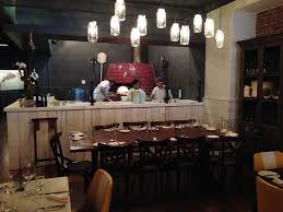 incredible diy light mason jar chandelir in bar with wooden pallet