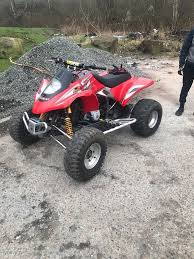 2004 gasgas wild hp 450cc road legal quad not 250 ktm crf rmz kxf