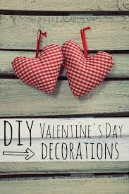 Make Decorations For Valentine S Day by Diy Valentine U0027s Day Decorations My Life And Kids