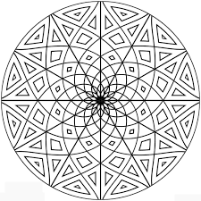 pattern coloring pages for adults circular circular patterns colouring pages clock face