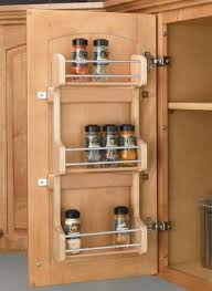 cabinet door mounted spice rack the rev a shelf small door mount spice rack has everything you need