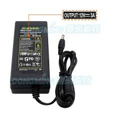 12 volt transformer for led lights 12v 3a power adapter free shipping 1pcs 100 new certified desktop