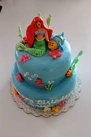 homemade princess ariel birthday cake design u2014 wow pictures