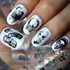 zombie nail art images nail art designs