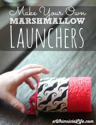 pool noodle craft marshmallow launcher