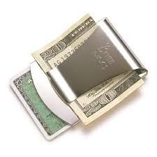 smart money clip credit card holder trendyoutlook