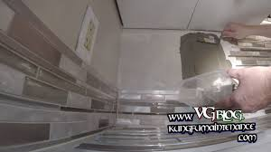 How To Install Glass Mosaic Tile Backsplash In Kitchen Thin Set Installing Back Splash Glass Mosaic Tile Material To