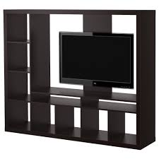 expedit tv storage unit black brown ikea 130 matches my