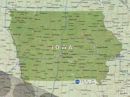 Iowa State Map Eclipse Maps Total Solar Eclipse 2017