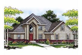 New Brick Home Designs Contemporary  Eplans New American House - New brick home designs