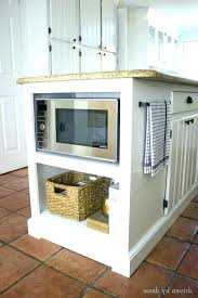 kitchen island microwave microwave in island cheertechdance com