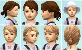 childs hairstyles sims 4 unique sims male child hairstyles sims hair mods glitch the sims