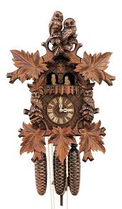 Cuckoo Clock Germany Cuckoo Clock 8 Day Movement Carved Style 50cm By Rombach U0026 Haas 4560