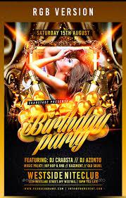 21 birthday party flyer design psd download design trends