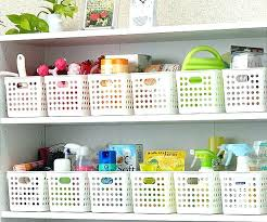 Bathroom Storage Containers Bathroom Cabinet Storage Bins Photogiraffe Me