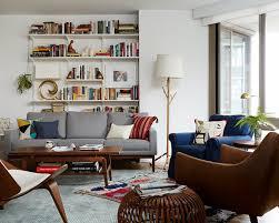 Bookshelf Behind Couch Design Crush Emily Henderson Joanna Goddard U0027s Home Interiors