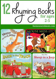 For Toddlers Rhyming Books For Toddlers Preschoolers The Measured