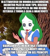Alice Meme - nc the dark alice meme italia