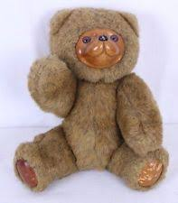 wooden faced teddy bears vintage robert raikes wood jointed teddy large 20in 5287