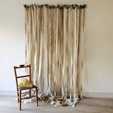 curtain hanging options hessian and lace wedding backdrop by just add a dress