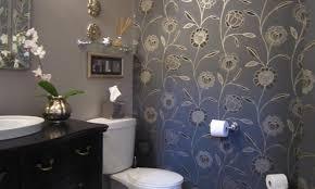powder room sink share this purple mediumsized powder room with