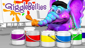 colors of the rainbow learning songs gigglebellies youtube
