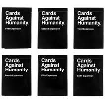 cards against humanity expansion pack cards against humanity 1 6 expansion packs house party specials
