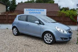 2008 08 vauxhall corsa design 1 4 5 door manual half leather