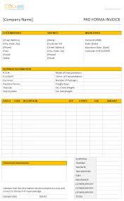 Consultancy Invoice Template Proforma Invoice Template Dotxes