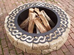 48 Inch Fire Pit by Exterior Design Interesting Lowes Fire Pit For Garden Design