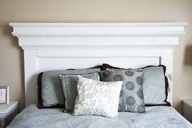 diy queen headboard with storage wooden lights plans for and