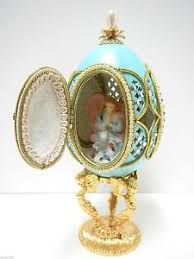 decorated goose eggs authentic decorated goose egg my guardian angel 30313 ebay