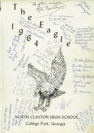 clayton high school yearbook explore 1964 clayton high school yearbook college park ga