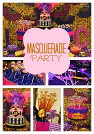 masquerade party ideas masquerade birthday party