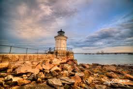 bug light park lighthouse in south portland maine